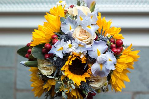 Colorado wedding bouquet