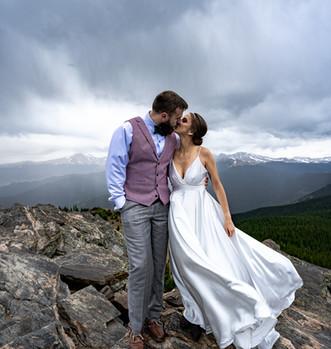 Summit adventure elopement