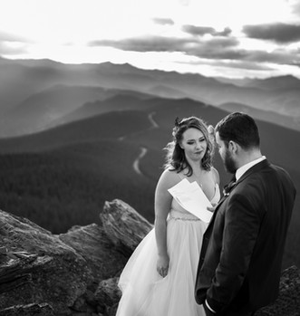 Elope on mountain top