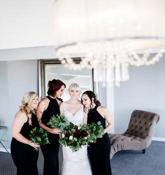 Colorado wedding party