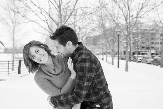Colorado winter engagement photographerColorado engagement photographer