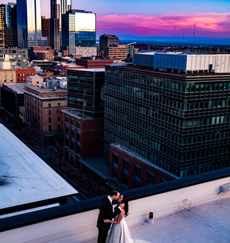 Downtown Denver Rooftop Wedding