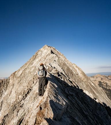 Colorado Adventure photographer - Capitol Peak Knife Edge traverse