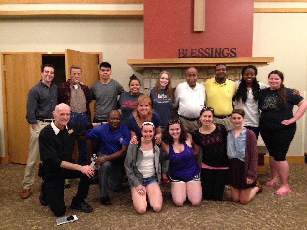 Thomas and Lewis University Students