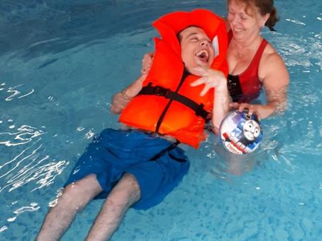 Swimming fun!