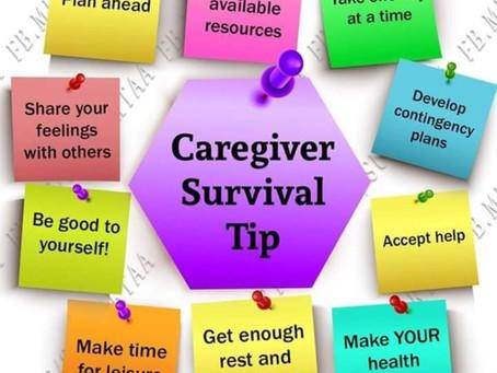 The Caregiver Survival Tip