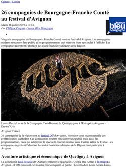 Interview France Bleu