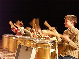 Ateliers percussions enfants