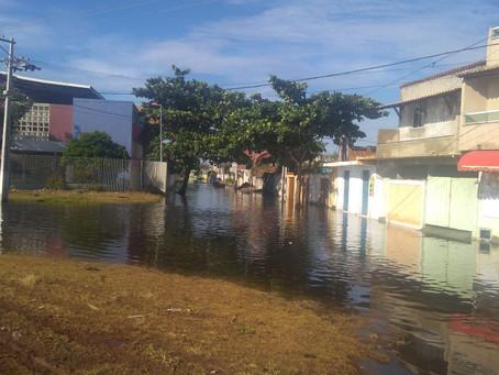 Alterações de itinerários devido aos alagamentos provocados pela forte chuva de 25/01 (sexta-feira)