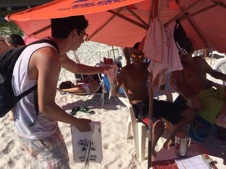 Salineira realiza, neste fim de ano, o projeto Operação Praia Limpa e Segura em Cabo Frio