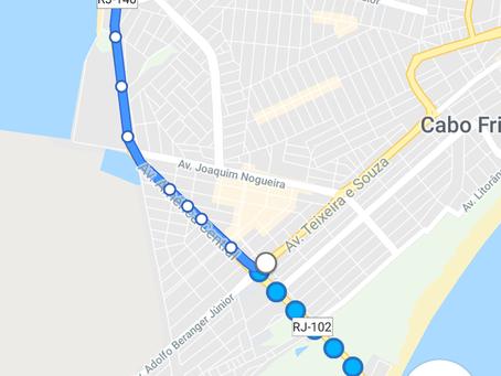 Google traz para Cabo Frio horários de ônibus em tempo real