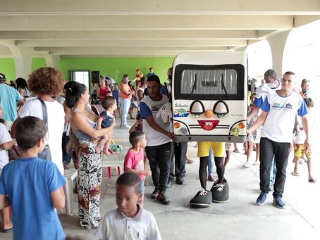Salineira com a Comunidade registra mais de 2 mil atendimentos no bairro Porto do Carro