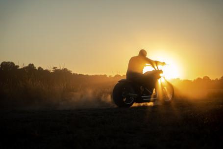photographe moto chalons en champagne Harley davidson