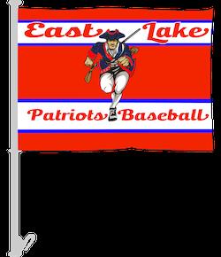 Baseball Team Car Flags