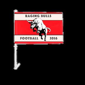 Football Team Car Flags