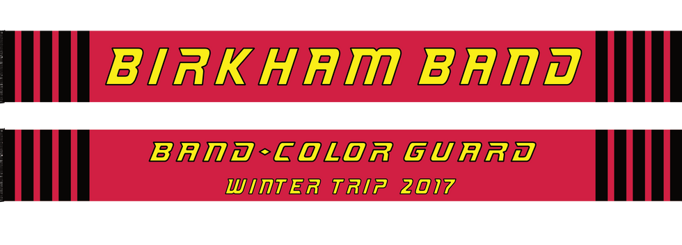 Band and Color Guard Scarf