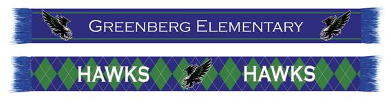 Elementary School Scarf