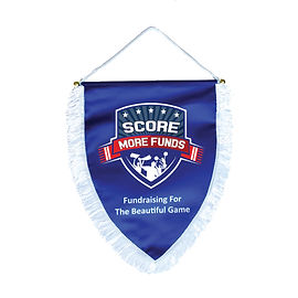 Custom Sports Shield Pennant