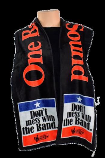 Marching Band Plush Velvet Scarf
