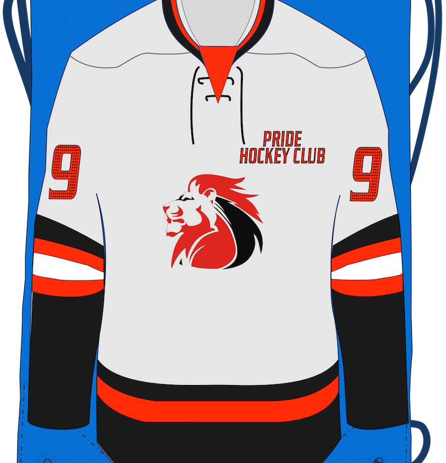 Custom Hockey Club Drawstring Bags