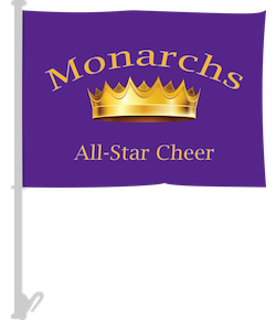 Custom Cheerleading Team Car Flags