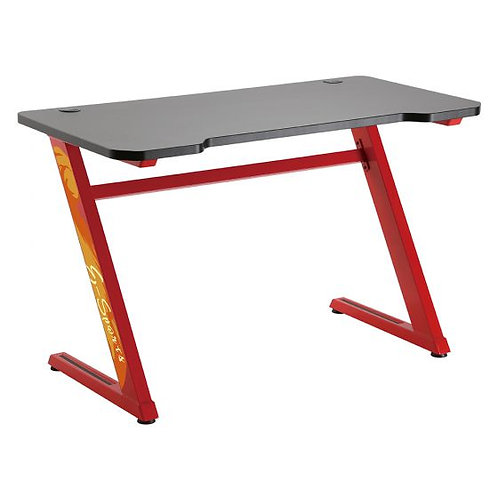 LUMI GMD02-1 שולחן גיימינג מקצועי באדום