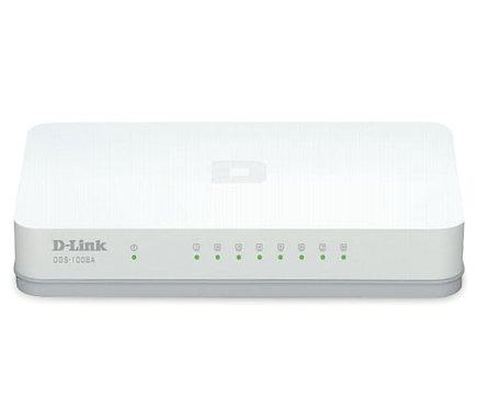 D-Link DGS-1008A 8 Ports Gigabit 10/100/1000Mbps