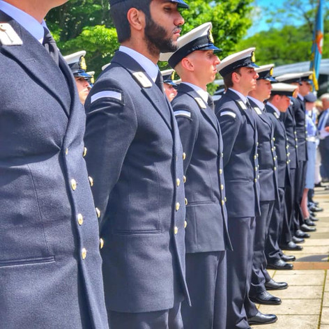 BRNC - Naval Officers On Parade