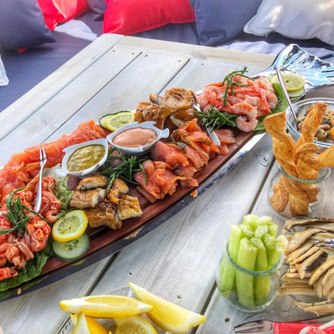 Seafood Sharing Board The izz Boat