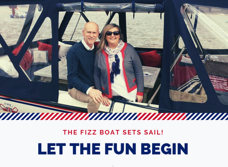 The Fizz Boat Sets Sail