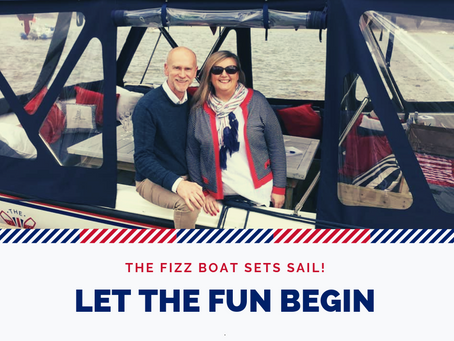 The Fizz Boat Sets Sail