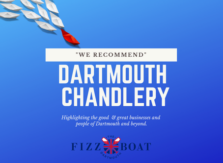 """We Recommend"" - Dartmouth Chandlery"