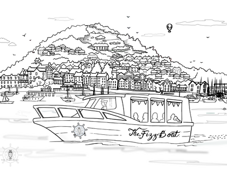 The Fizz Boat - Well an artist's impression!