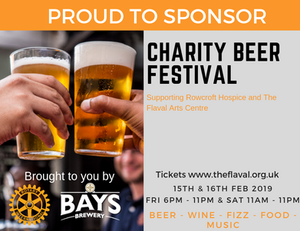 The Fizz Boat sponsors Dartmouth Beer Festival 2019