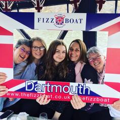Selfie Frame on The Fizz Boat