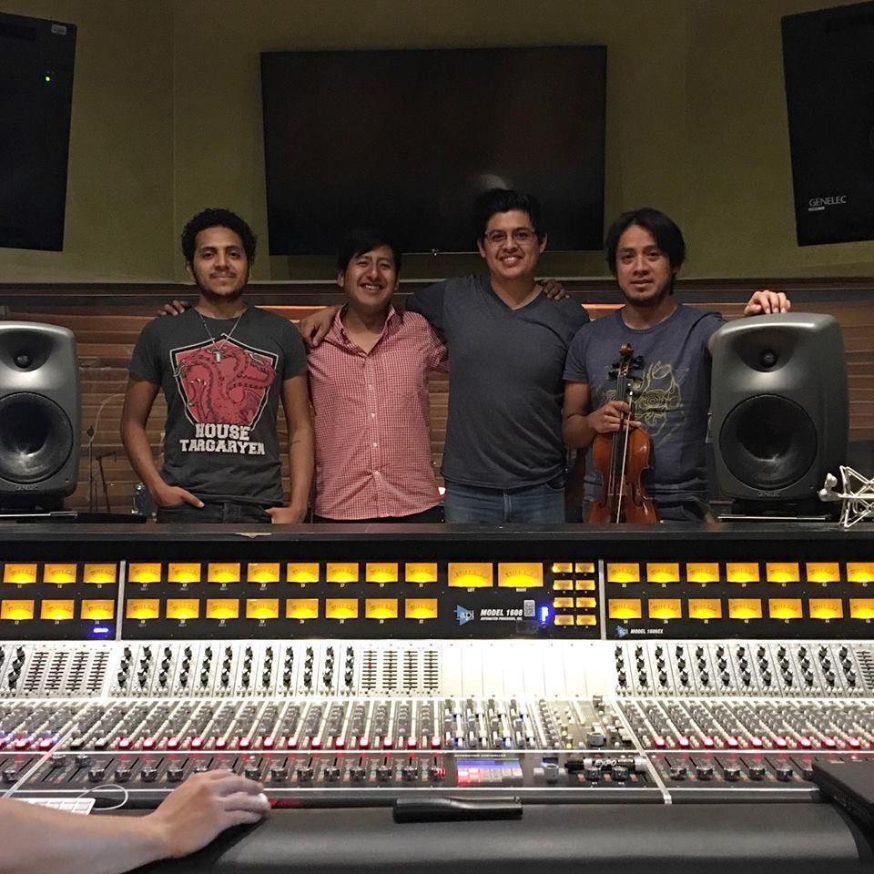 Tate klezmer band grabación Tec de Monte