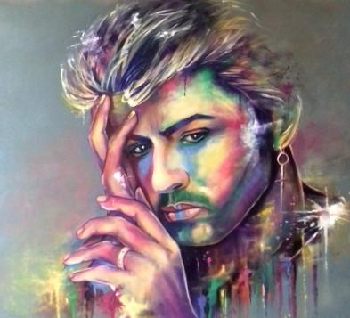 George Michael by Eva Bazhenova ( SOLD )