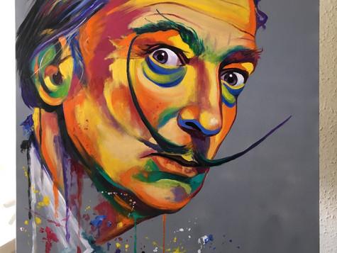 Salvador Dali by Eva Bazhenova