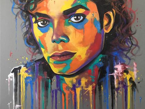 Michael Jackson by Eva Bazhenova