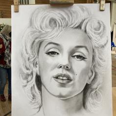 Marilyn Monroe Dry Brush