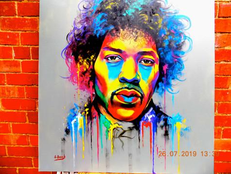 Jimmy Hendrix by Eva Bazhenova