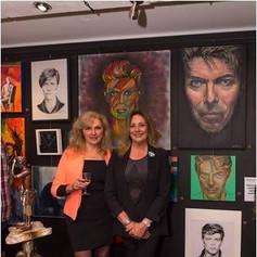David Bowie Tribute Exhibition, Newark-on-Trent