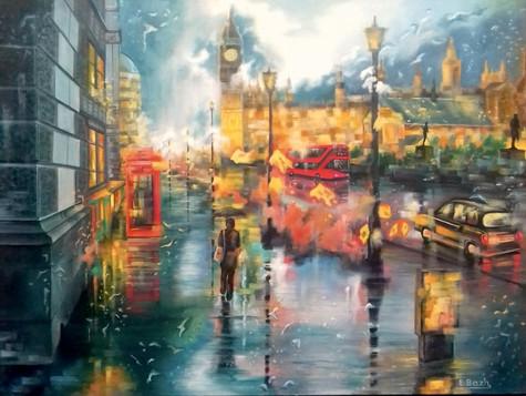 Lights of London by Eva Bazhenova