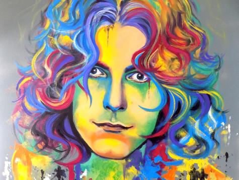 Robert Plant by Eva Bazhenova