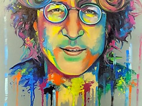 John Lennon by Eva Bazhenova (SOLD)