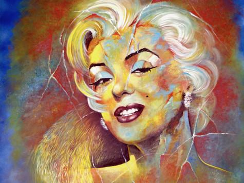 Marilyn Monroe by Eva Bazhenova