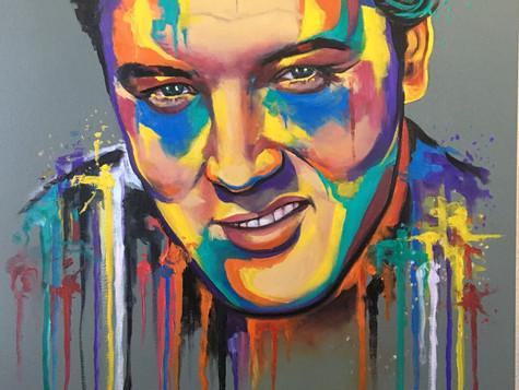 Elvis Presly by Eva Bazhenova