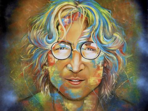 John Lennon by Eva Bazhenova