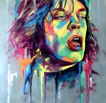 Mick Jagger by Eva Bazhenova