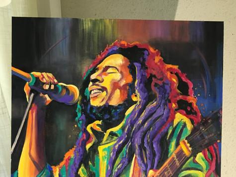 Bob Marley by Eva Bazhenova